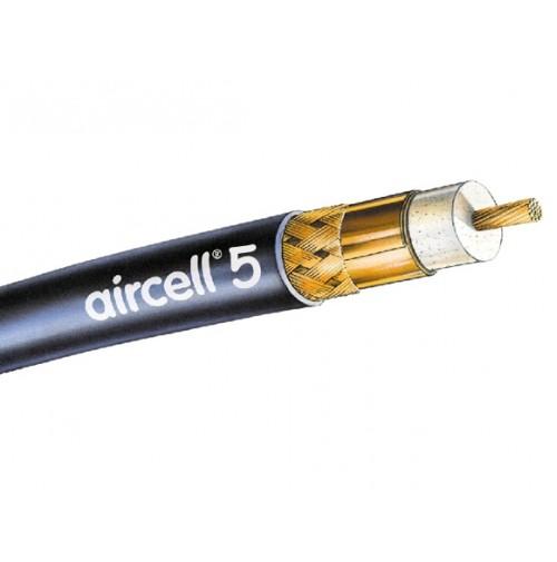 AIRCELL 5 - Cavo 50 ohm, 5mm (come rg-58) - BASSA PERDITA