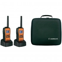 Albrecht Tectalk Float Radio PMR IMPERMEABILI E GALLEGGIANTI  29661 Kit da 2 Pz