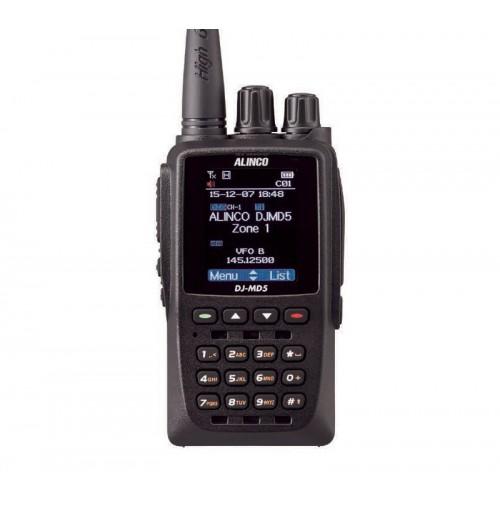 ALINCO DJ-MD5EGP- RTX PORTATILE VHF/UHF ANALOGICO/DMR CON GPS