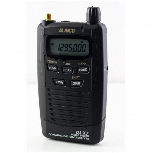 ALINCO DJ-X7E RICEVITORE SCANNER PORTATILE 0.1-1.3 GHZ