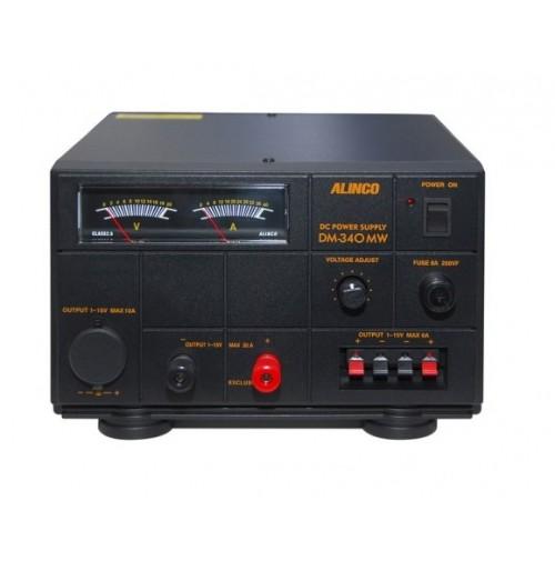 ALINCO DM-340MW-ALIMENTATORE LINEARE 35 AMPERE