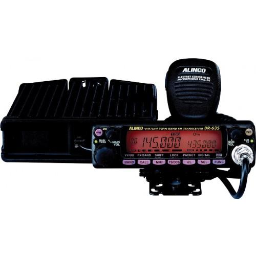 ALINCO DR635E RTX VEICOLARE BIBANDA (VHF-UHF) RICEZIONE SIMULTANEA