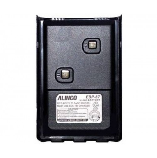 ALINCO EBP-87 - LI-ION BATTERY 7,4V -  1500 MAH PER ALINCO DJ-500E