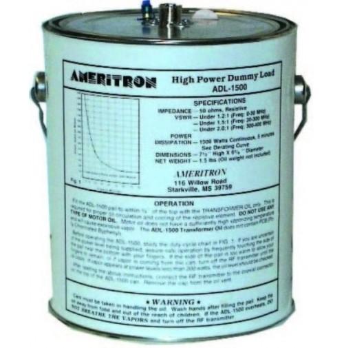 AMERITRON ADL-1500X - CARICO FITTIZIO AD OLIO 1500W (OLIO NON COMPRESO!)