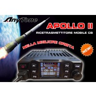 ANYTONE APOLLO II - TRANSCEIVER COMPATTO PER CB - DISPLAY COLORI