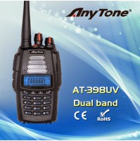 ANYTONE AT-398UVA RX/TX : 144-146 Mhz / 430-440 Mhz 6W