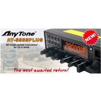 ANYTONE AT-5555 - RTX MOBILE HF 10 MT AM/FM/SSB ALL MODE