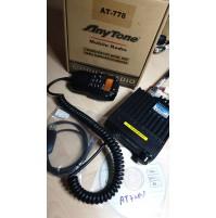 ANYTONE AT-778V - RTX VEICOLARE 136/174 MHZ CON COMANDI E DISPLAY SU MIC