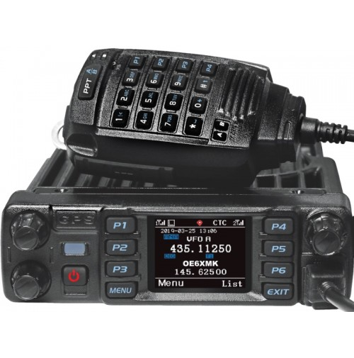 ANYTONE AT-D578UV PLUS + PTT BLUETOOTH Radio Dualband DMR/FM con VFO & ROAMING