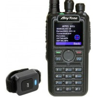 ANYTONE AT-D878UV II PLUS APRS-RTX VHF/UHF ANALOG/DMR PTT BT/VFO/ROAMING/GPS