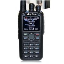 Anytone AT-D878UV Radio Anytone D868UV Dualband DMR/FM con VFO & ROAMING