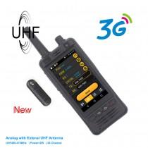 Anysecu W5 Phone PTT Radio IP67  RICETRASMETTITORE 3G NETWORK & UHF 400-470 MHZ