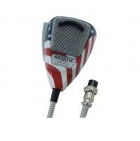 ASTATIC 636L-FLAG Microfono Palmare Preamplificato