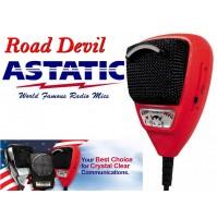 ASTATIC RD-104E  ROAD DEVIL Microfono Palmare Preamplificato