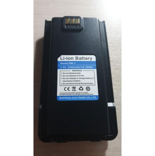BAOFENG DM1  BATTERIA 2200 MAH LITHIO PER DM-1701
