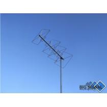 BIG SIGNAL 10BS-270-ANTENNA DIRETTIVA 144/432 MHz CUBICAL QUAD 10 ELEMENTI