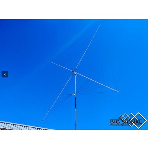 BIG SIGNAL 1BS-5B ANTENNA HF Bi-Directional 5 Bands Quad 5 bands 10 / 12 / 15 / 17 / 20 m