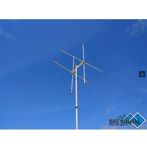 BIG SIGNAL  2BS-4-ANTENNA DIRETTIVA 70 MHz CUBICAL QUAD 2 ELEMENTI