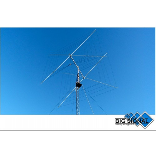 BIG SIGNAL 2BS-5B ANTENNA DIRETTIVA HF 2 element 10 / 12 / 15 / 17 / 20 m