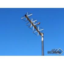 BIG SIGNAL 4BS-70-ANTENNA DIRETTIVA 432 MHz CUBICAL QUAD 4 ELEMENTI