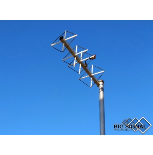 BIG SIGNAL 4BS-70 - ANTENNA 4 ELEMENTI CUBICAL QUAD 432 MHZ