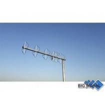 BIG SIGNAL 6BS-70-ANTENNA DIRETTIVA 432 MHz CUBICAL QUAD 6 ELEMENTI