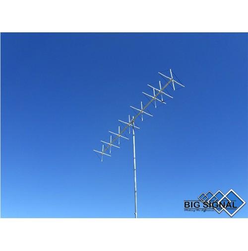 BIG SIGNAL 8BS-2-ANTENNA DIRETTIVA 144 MHz CUBICAL QUAD 8 ELEMENTI