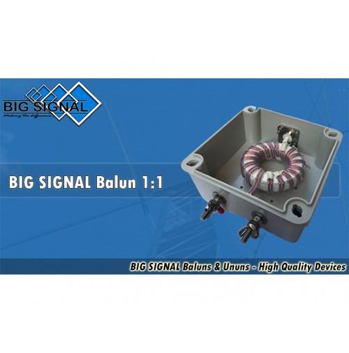 BIG SIGNAL Balun 1:1 - 2000W - 1 - 52 MHz
