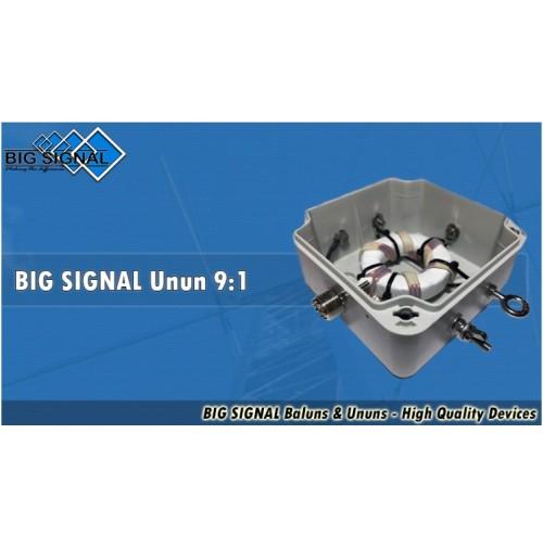 BIG SIGNAL UNUN 9:1 - 2 kW PeP