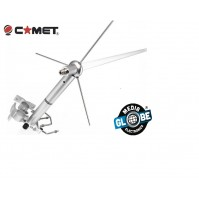 Comet - GP-6M Antenna Bibanda 144/430 MHz Altezza 307 cm..