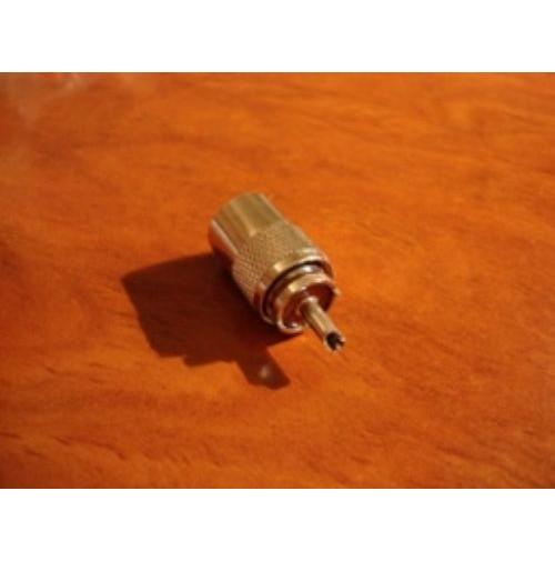 CONNETTORE PL-259 PER RG-213 BACHELITE