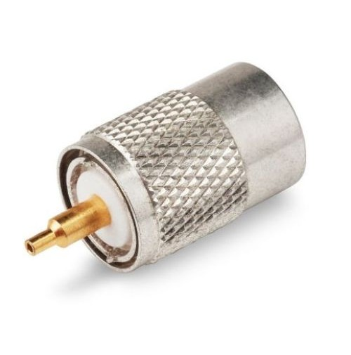 CONNETTORE PL PER RG 58/H155/RG 8 MINI