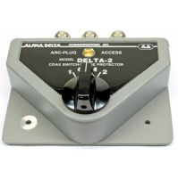Alpha Delta DELTA-2B/PL(SO239) Commutatore Coassiale a 2 vie (1500 Watt CW)