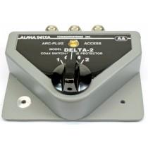 Alpha Delta DELTA-2B/PL(SO239) Commutatore Coassiale a 2 vie (1500 Watt CW)