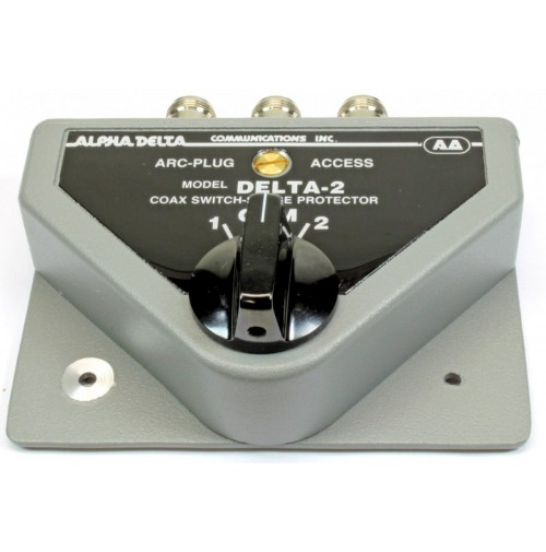 Alpha Delta DELTA-2B/N Commutatore Coassiale a 2 vie (1500 Watt CW) ATTACCO N