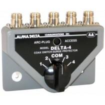 Alpha Delta DELTA-4B/N Commutatore Coassiale a 4 vie (1500 Watt CW) CONN.