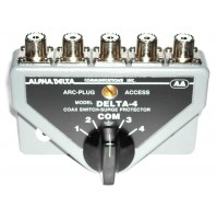 Alpha Delta DELTA-4B Commutatore Coassiale a 4 vie (1500 Watt CW) CONN.PL (SO239)
