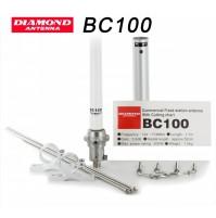 DIAMOND BC-100-ANTENNA VERTICALE 136-174 MHz 170 cm FIBRA DI VETRO-DA TARARE