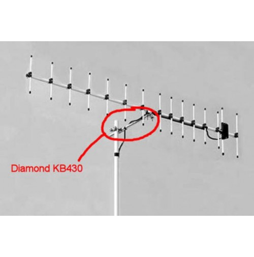 DIAMOND KB-430R SUPPORT BOOM ELEMENT FOR A430S10 AND A430S15 ANTENNA