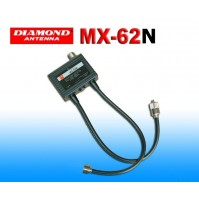 DIAMOND MX-62N-DUPLEXER 1.6-56/76-470 MHz CONNESSIONI PL259/NM