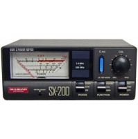 DIAMOND SX-200 Rosmetro/Wattmetro 1.8-200 MHz - 5/20/200 Watt -