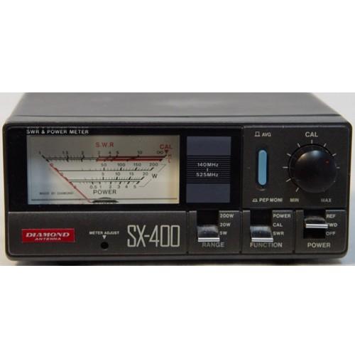 DIAMOND SX-400 Rosmetro/Wattmetro 140-525 Mhz - 5/20/200 Watt