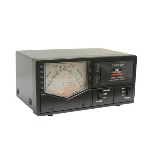 D-ORIGINAL DX-CN600 WATTMETRO AD AGHI INCROCIATI 1.8-525 MHz 3000 WATT IN HF