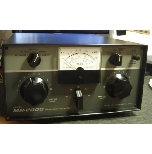 DRAKE MN-2000 ACCORDATORE HF 2 KW CON COMMUTATORE 2 VIE - PERFETTO