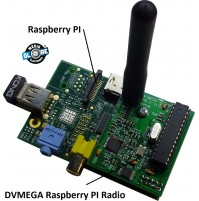 DV-MEGA DV Raspberry PI Single Band Radio 433 mhz x hotspot