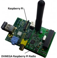 DV-MEGA DV Raspberry PI Single band Radio hotspot