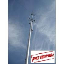 GAP CHALLENGER-DX 8 BAND - VERTICAL HF/VHF ANTENNA, 80M-2M