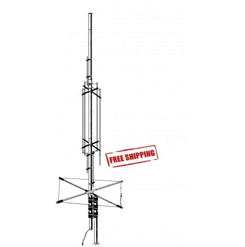 GAP TITAN-DX - ANTENNA 80, 40, 30, 20, 17, 15, 12, 10m ALTEZZA 7.6M