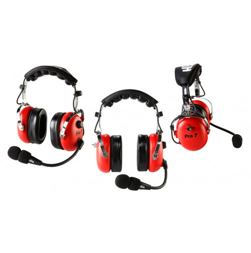HEIL SOUND PROSET 7 RED - CUFFIA MICROFONO PROFESSIONALE COLORE ROSSO