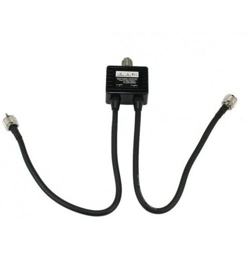 HAMKING MX-72 Duplexer HF - VHF y UHF  1,6-30 / 140-150 / 400-460 MHz